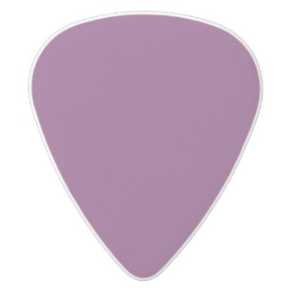 Uptown Purple-Royal Purple-Uptown Girl-Designer White Delrin Guitar Pick