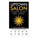 uptown salon loyalty Double-Sided standard business cards (Pack of 100)