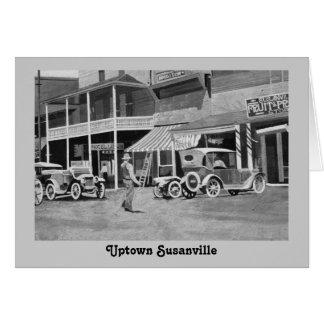 Uptown Susanville Mural Card