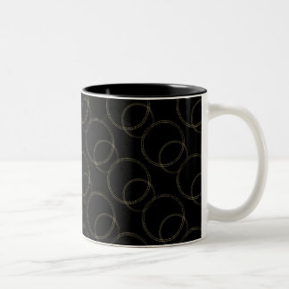 Uptown Vibrance Mug, Gold Two-Tone Coffee Mug