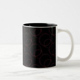 Uptown Vibrance Mug, Pink Two-Tone Coffee Mug