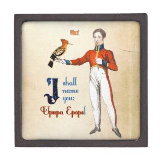 Upupa Epops Jewelry Box