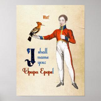 Upupa Epops Poster