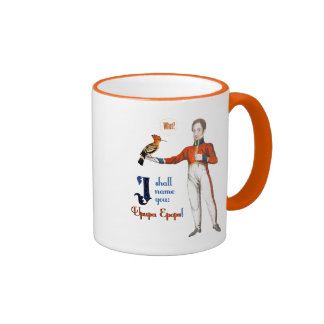 Upupa Epops Ringer Mug