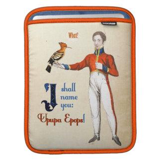 Upupa Epops Sleeve For iPads