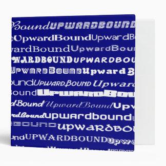 """Upward Bound Text Design 2"""" Binder"""