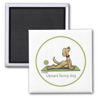 Upward Facing Dog - yoga pose Refrigerator Magnet