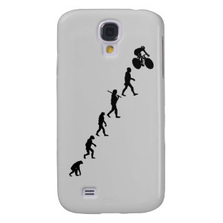 Upwardly Evolving Bicycle Design Galaxy S4 Cases
