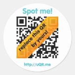 uQR.me Sticker