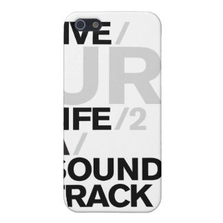 Ur Life 2 A Soundtrack iPad Case Cover For iPhone 5