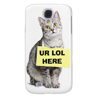 UR LOL HERE GALAXY S4 CASES