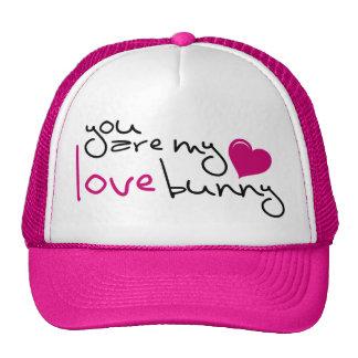 UR my Love Bunny Trucker Hat