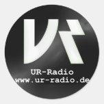 UR-radio autosticker