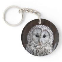 Ural Owl Keychain