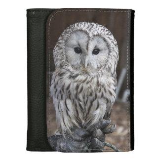 Ural Owl Leather Wallets