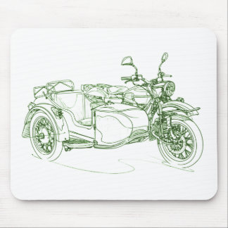 Ural Retro Red October 2010 Mouse Pad