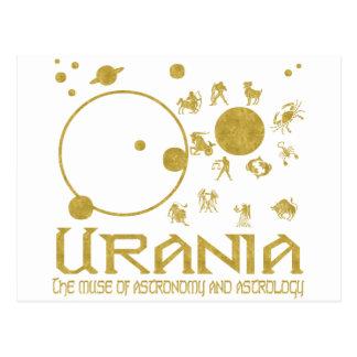 Urania Postcard