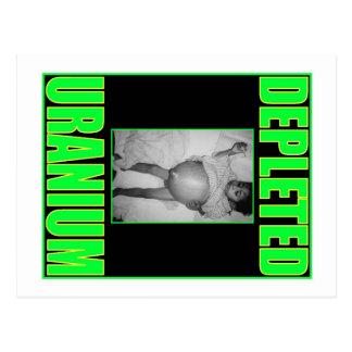 Uranio desblindado #3 postales