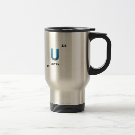 uranium coffee mug