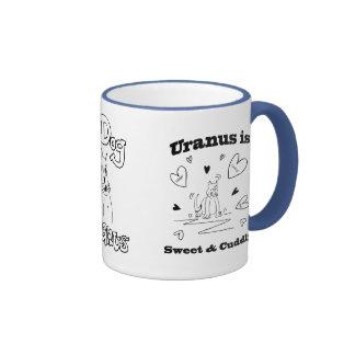 Urano es taza dulce y mimosa