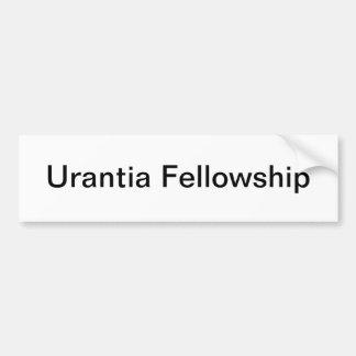 Urantia Fellowship Bumper Sticker