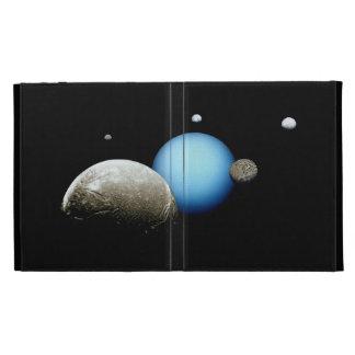 Uranus and Moons NASA Space iPad Case