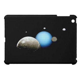 Uranus and Moons NASA Space iPad Mini Case
