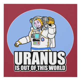 Uranus is Out of This World Panel Wall Art