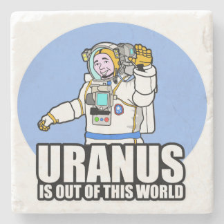 Uranus is Out of This World Stone Coaster