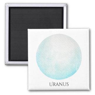 Uranus Planet Watercolor Magnet