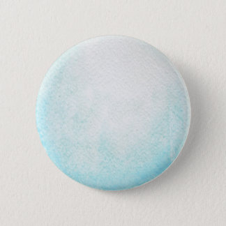Uranus Planet Watercolor Round Button