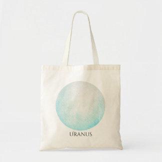 Uranus Planet Watercolor Tote