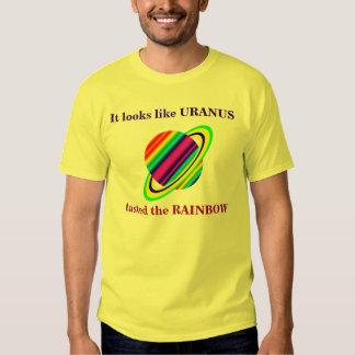URANUS tasted the rainbow. T-shirt