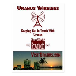 Uranus Wireless Postcard