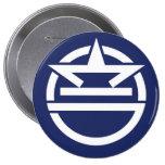 Urasoe, Okinawa 4 Inch Round Button