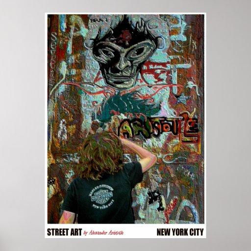 "Urban59 artista Alexander Aristóteles ""ARTE de la  Póster"