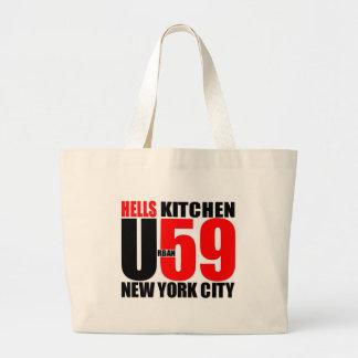 Urban59 Hell's Kitchen NYC Logo Bag