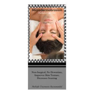 Urban 1,  male facial, Microdermabra... Customized Rack Card
