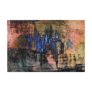 Urban Abstract Gallery Wrapped Canvas