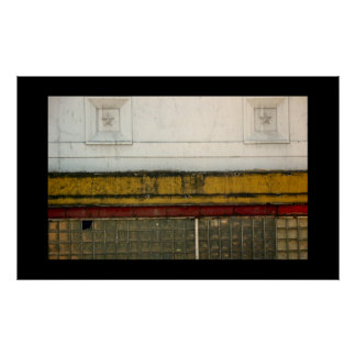 urban abstract print