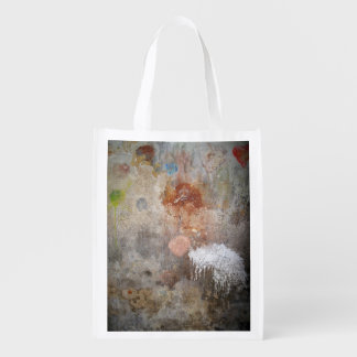 Urban Abstract Reusable Grocery Bags