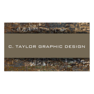 """""""Urban Abstracts"""" 1 Double-Sided Standard Business Cards (Pack Of 100)"""