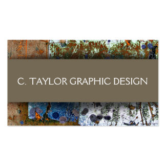 """""""Urban Abstracts"""" 3 Double-Sided Standard Business Cards (Pack Of 100)"""