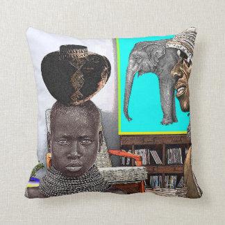 Urban African Design Pillow
