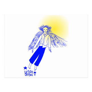 Urban Angel Postcard