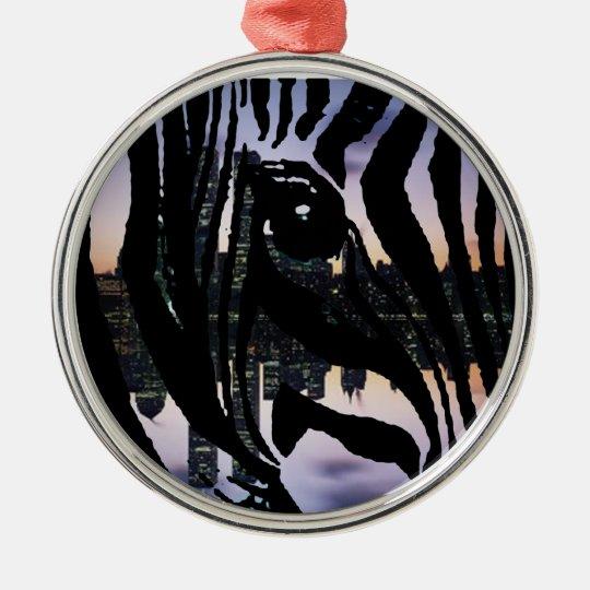 Urban Animal Metal Ornament