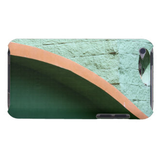 Urban architecture in green color barely there iPod case
