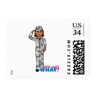 Urban Army Girl Stamps