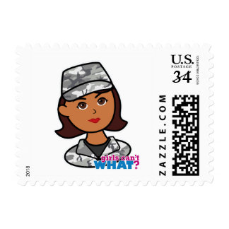 Urban Army Postage Stamps