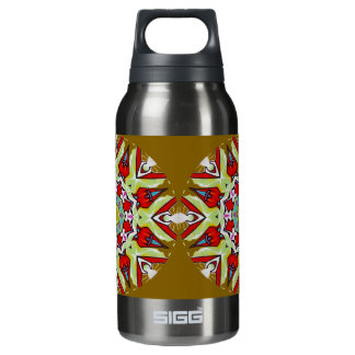 Urban Art 2 (Taupe) Insulated Water Bottle
